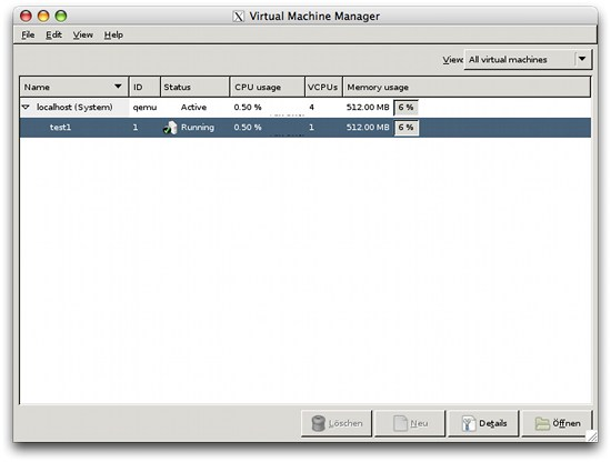 virt-manager on OS X via X11-Forwarding